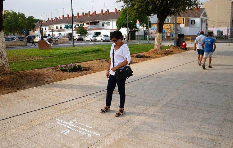Las calles de Utrera se llenan de frases del Abate Marchena