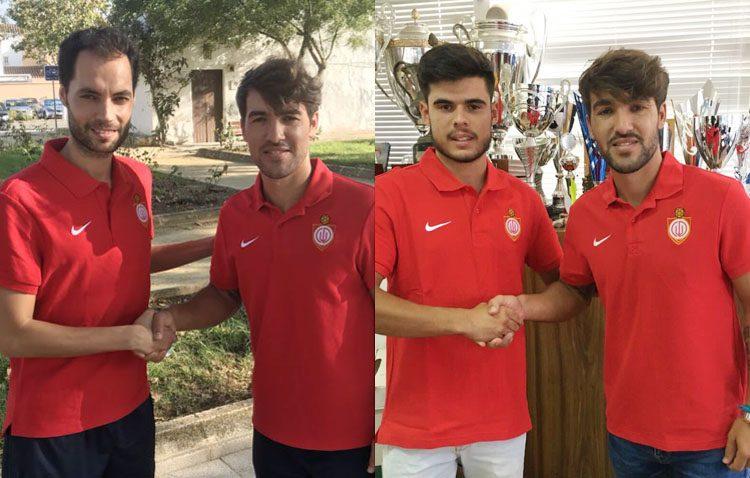 Álex Ortiz y Sergio Ortiz Contreras, nuevos jugadores del Club Deportivo Utrera