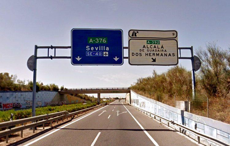 El desdoble de la carretera Dos Hermanas-Alcalá provocará cortes en la autovía de Utrera