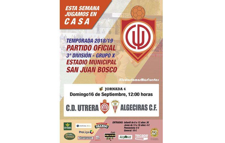 C.D. UTRERA – ALGECIRAS C.F.: Duelo de altas expectativas