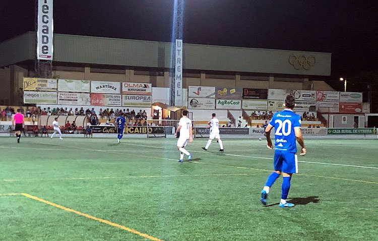 C.D. UTRERA 2 – 0 XEREZ DEPORTIVO F.C: El Utrera suma la primera victoria de la temporada