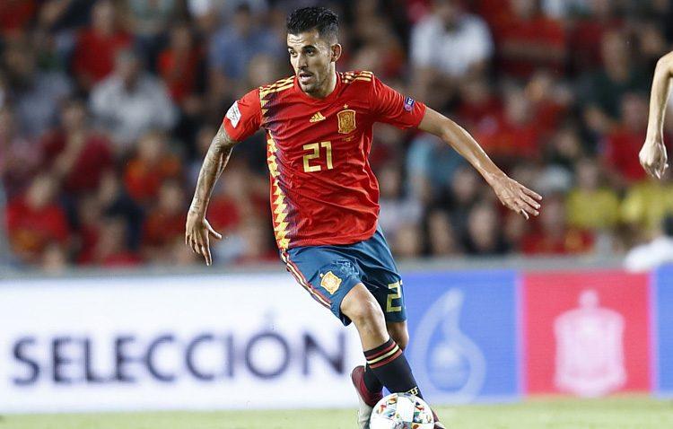 El futbolista utrerano Dani Ceballos cumple su sueño y debuta con La Roja ante Croacia