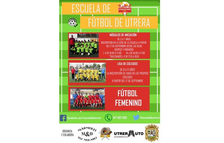 La Escuela Municipal de Fútbol inicia el nuevo curso