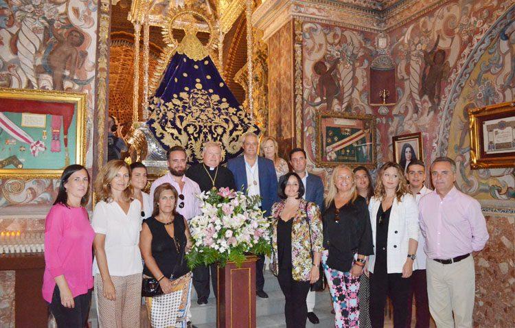 El PP pedirá a la Junta que «participe económicamente» en la restauración del retablo del santuario de Consolación