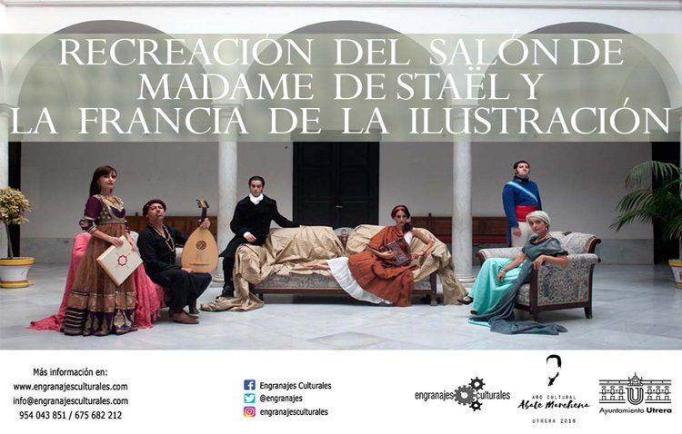 El ayuntamiento se transforma en el salón de Madame de Staël con motivo del año cultural del Abate Marchena