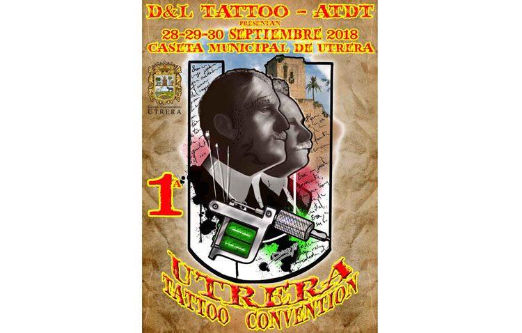 Más de un centenar de tatuadores pasan el fin de semana en la caseta municipal por la «Utrera Tatoo Convention»