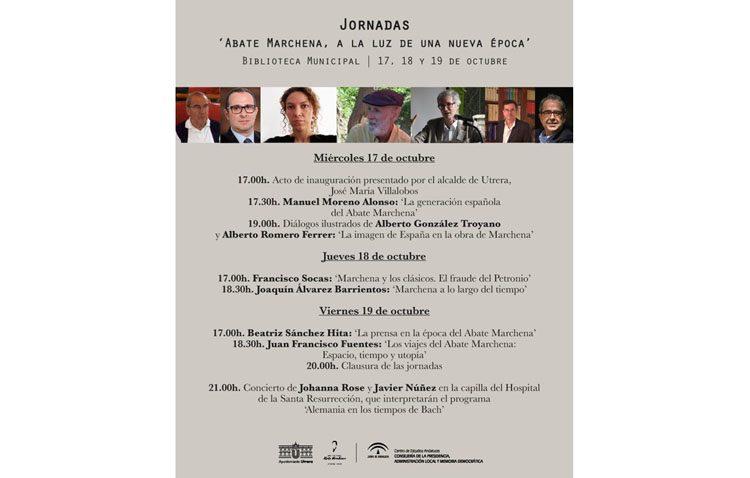 Unas jornadas del Centro de Estudios Andaluces para hablar en Utrera sobre el Abate Marchena