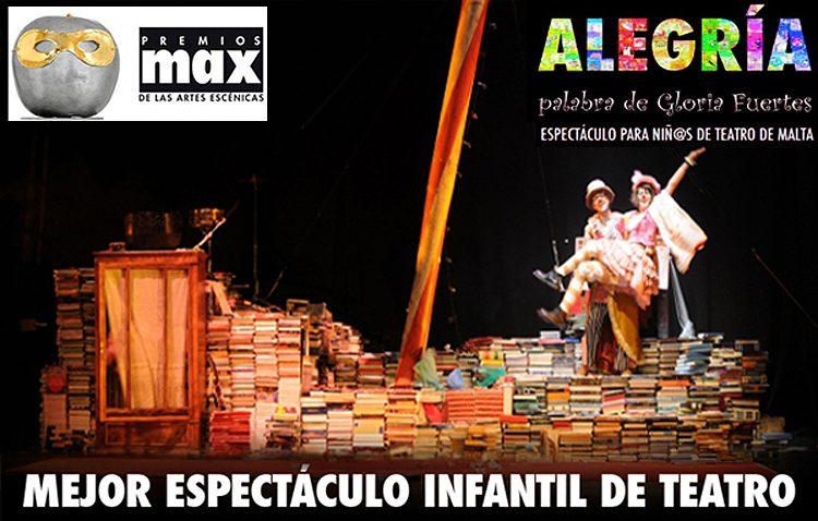 Teatro para toda la familia con «Alegría, palabra de Gloria Fuertes»
