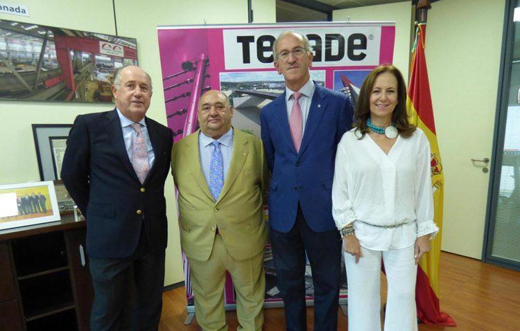 El utrerano Antonio Camino Salas, «Sevillano del año» por el Rotary Club de Sevilla