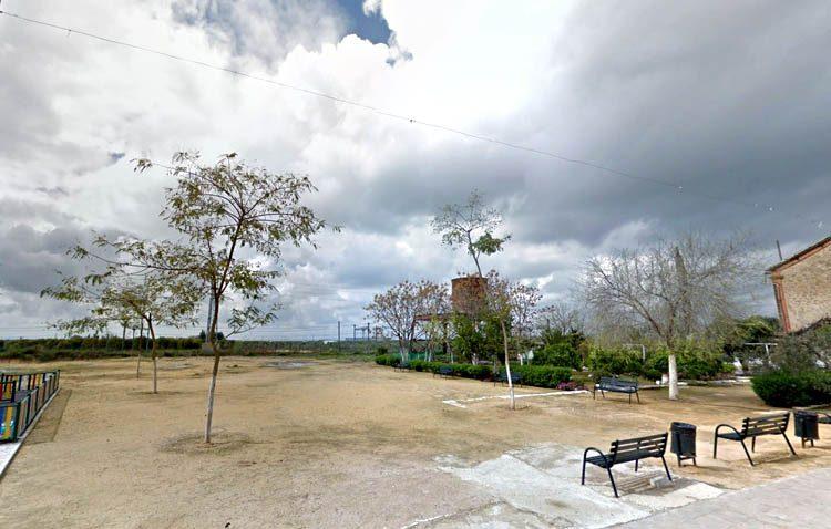 Adecentamiento en el solar de la barriada del Carmen