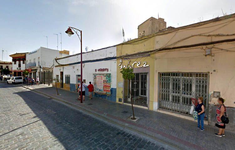 El derribo de dos inmuebles de la calle Fernanda y Bernarda dejará al descubierto parte del lienzo de muralla del castillo