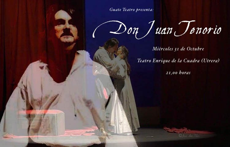 «Don Juan Tenorio» llega al teatro de Utrera
