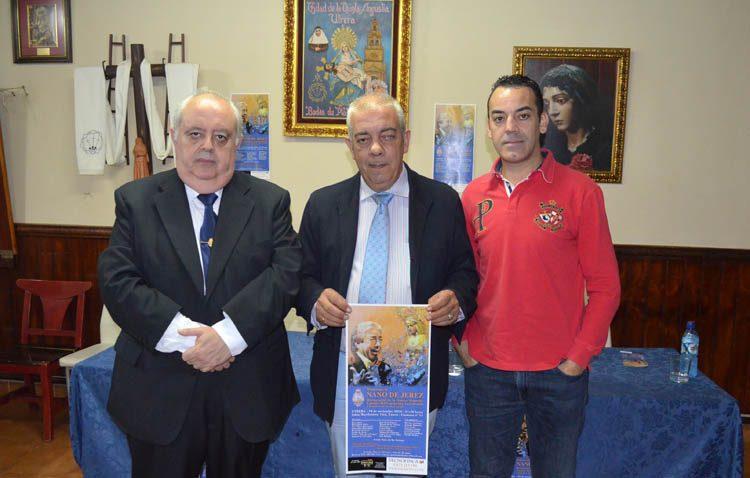 Una treintena de artistas se unen a la hermandad de la Quinta Angustia de Utrera para rendir homenaje al cantaor Nano de Jerez