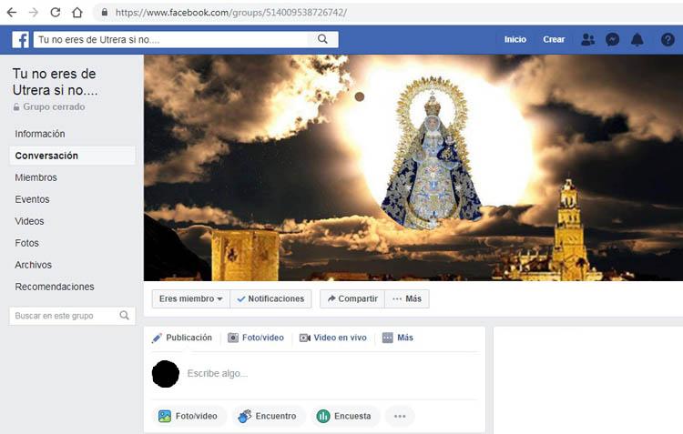 «Tu no eres de Utrera si no…», un espacio en Facebook con más de 18.000 utreranos