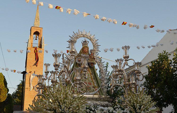 La Virgen de Consolación, protagonista de una jornada histórica en Trajano (IMÁGENES)