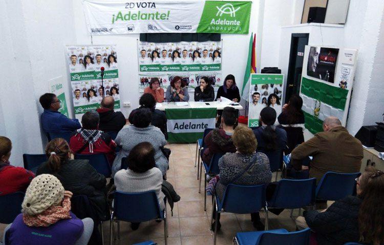 Adelante Andalucía propone en Utrera la creación de una «consejería de Feminismo» en el gobierno autonómico