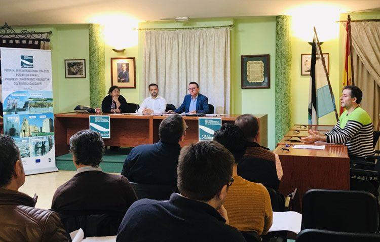 Fondos regionales y europeos para impulsar 46 nuevos proyectos empresariales y de empleo en el Bajo Guadalquivir