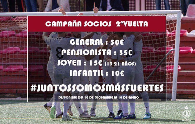El Club Deportivo Utrera lanza una nueva campaña de abonados