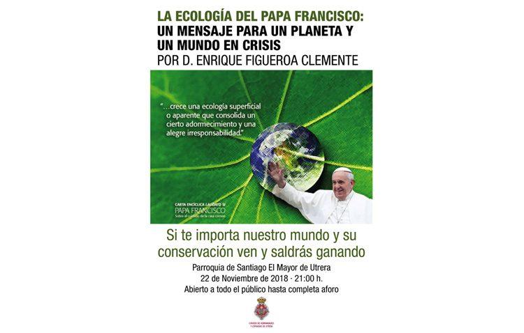 El Consejo de Hermandades organiza una conferencia sobre la encíclica del Papa Francisco centrada en la ecología