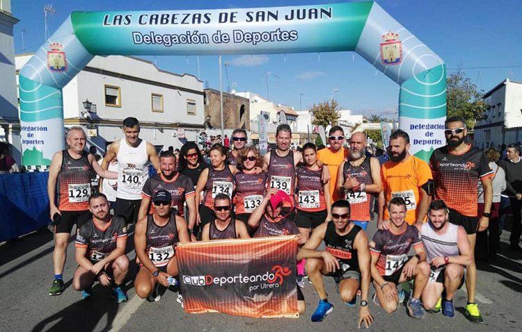 El Club Deporteando por Utrera, premiado en la «XXXI Carrera Urbana Rafael del Riego»
