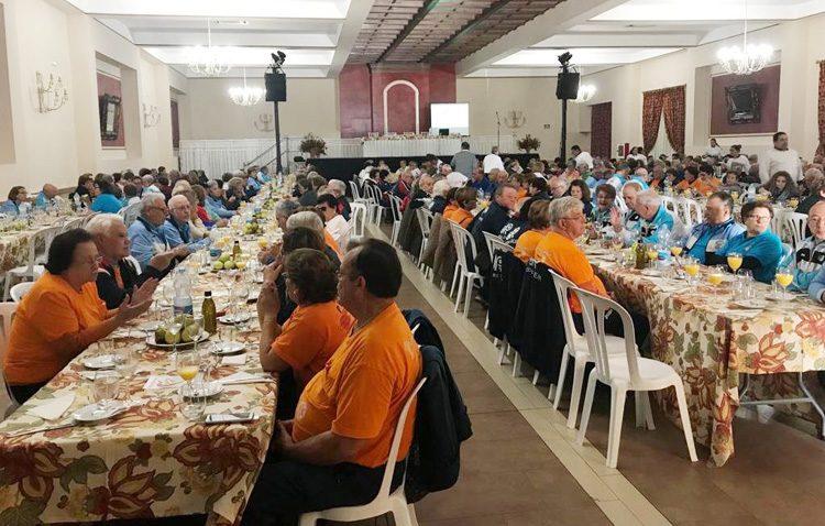 Cuatro centenares de pacientes cardíacos de una decena de pueblos de la provincia celebran en Utrera el Día del Corazón