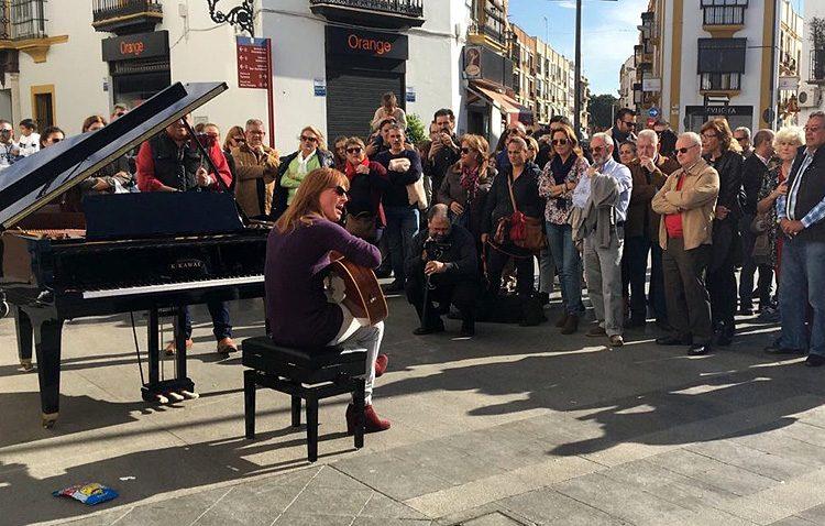 Los pianos volverán a las calles de Utrera con motivo del día de Santa Cecilia