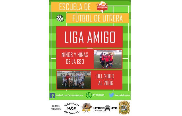 Vuelve la «Liga Amigo», un proyecto para fomentar los valores deportivos entre los escolares de Utrera