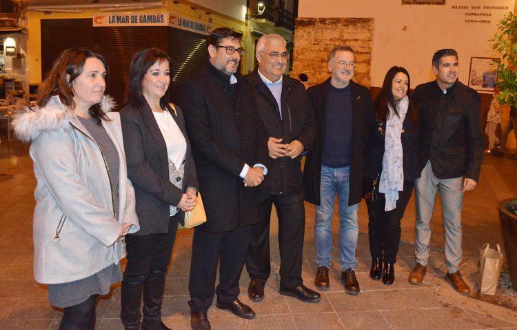 El PSOE promete en Utrera reducir la burocracia para facilitar la actividad empresarial en Andalucía