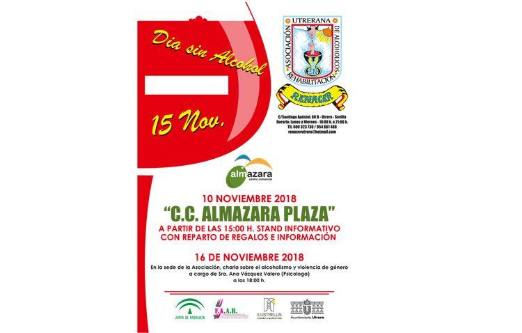 La asociación Renacer conmemora con varios actos el Día sin alcohol