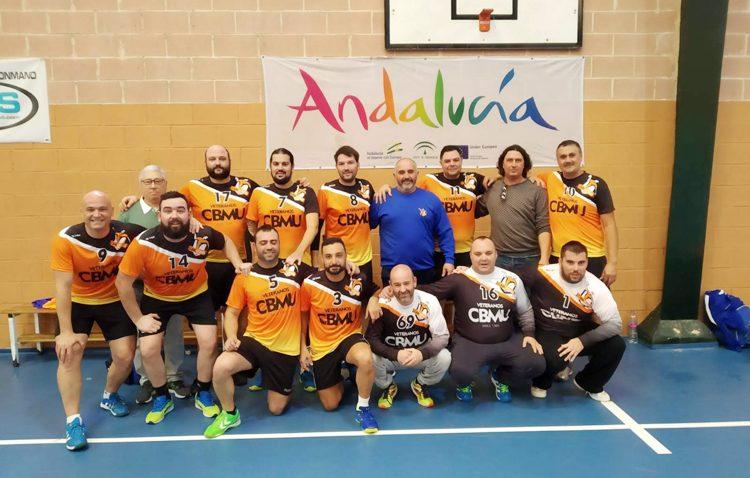 Buenas sensaciones para el Club Balonmano Utrera en el circuito andaluz de veteranos