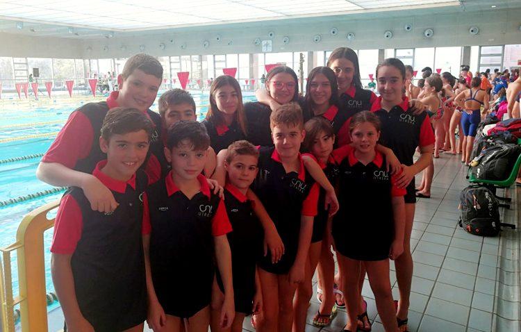 El Club Natación Utrera participa en la III jornada del Circuito de Jóvenes Nadadores