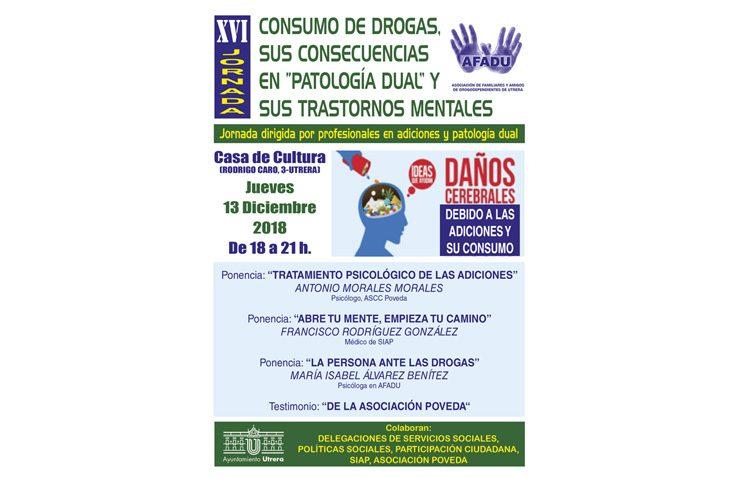 Afadu organiza una jornada sobre el consumo de drogas y sus consecuencias