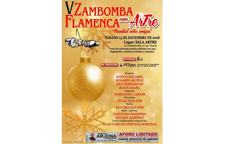 Una tarde de zambomba flamenca en la sala «Artre»