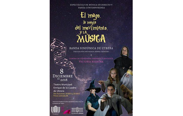 Un espectáculo de música y danza sobre «Harry Potter» con la Banda Sinfónica de Utrera y el centro «Victoria Kudrina»