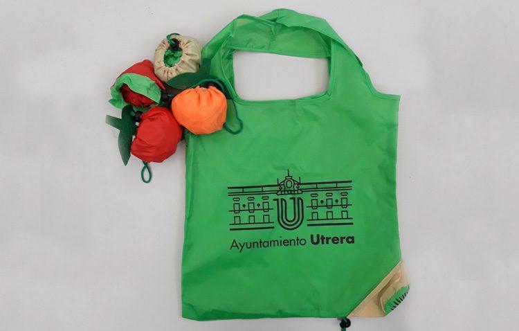 El Ayuntamiento de Utrera repartirá entre los ciudadanos 2.000 bolsas reutilizables