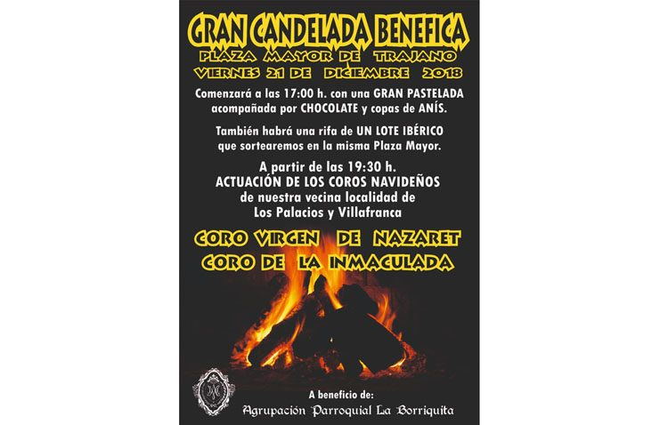 La Borriquita de Trajano organiza una candela benéfica