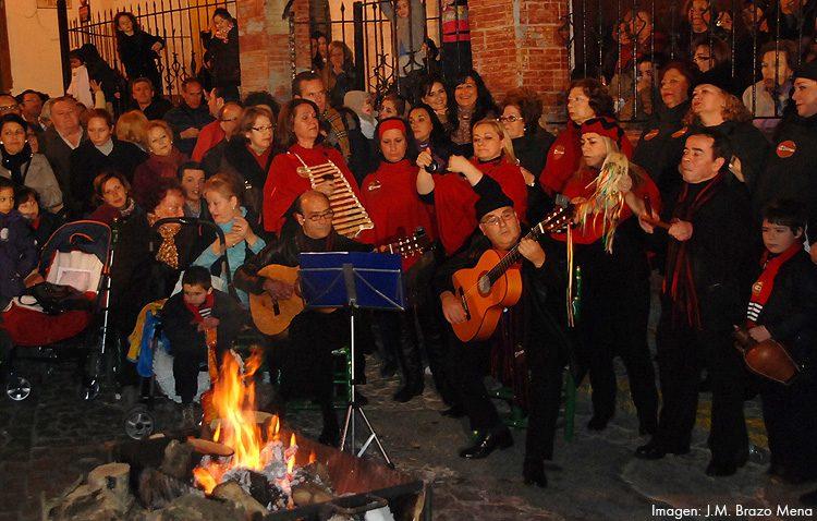 Una candela navideña flamenca para comenzar el fin de semana en Utrera