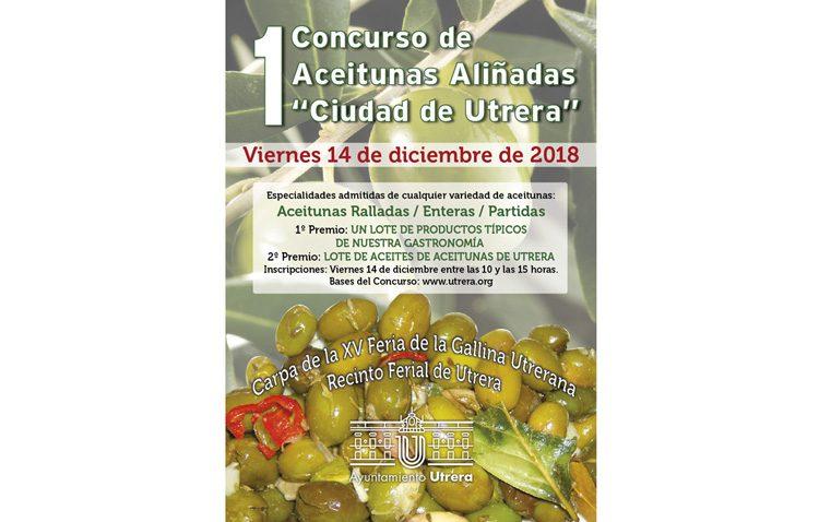Utrera celebra su primer concurso de aceitunas aliñadas