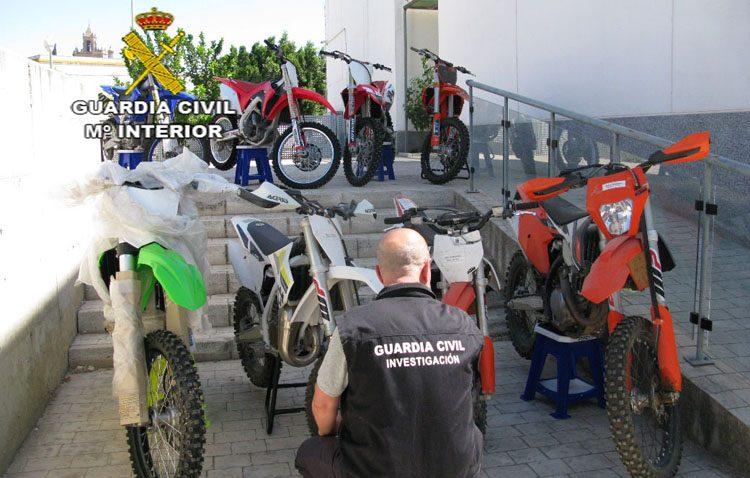 Detenida en Utrera una organización con 22 personas por estafar a financieras para vender motos a menor precio
