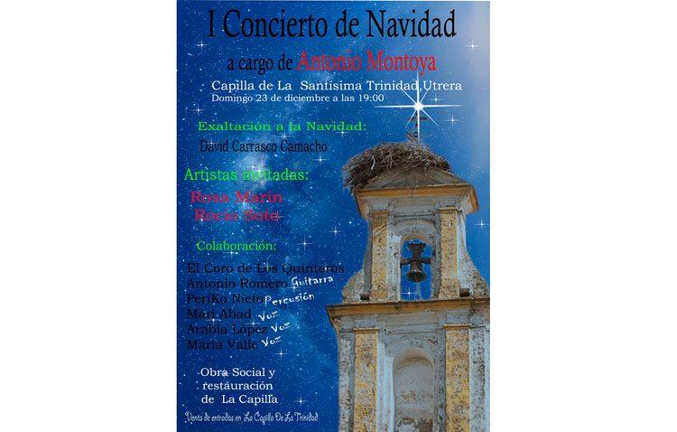 Concierto de Navidad a beneficio de la obra social de la Trinidad y de la restauración de su capilla