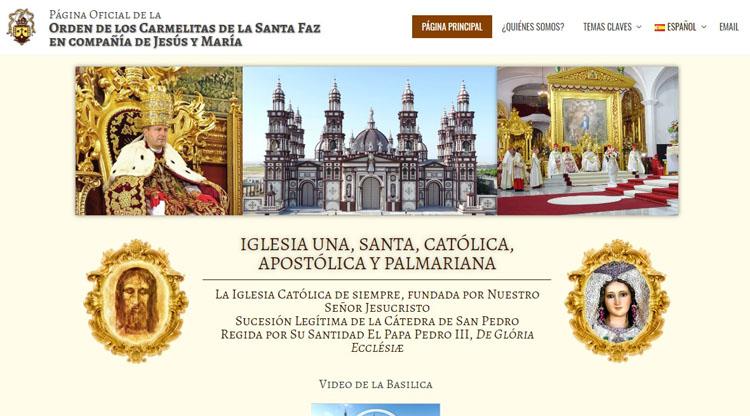Revolución en la iglesia palmariana, al crear una página web para defenderse de los «ataques falsos y malintencionados» (VÍDEOS)