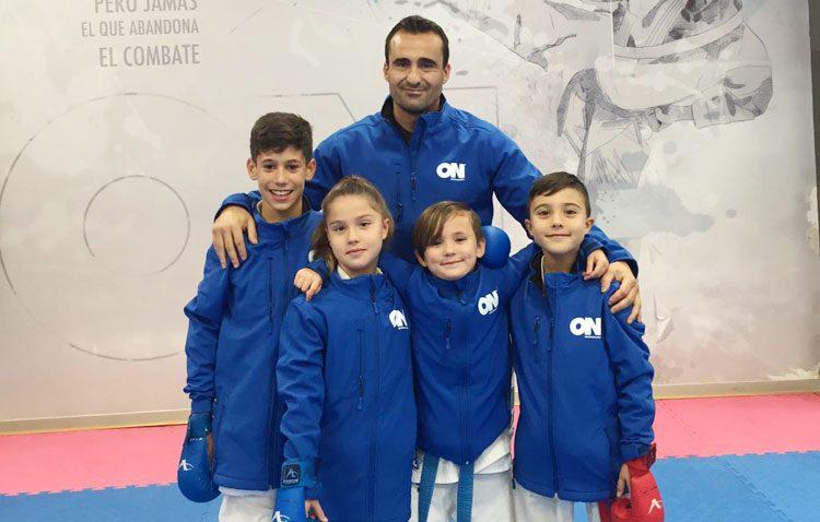El club «ON Sport&Wellness», en las primeras posiciones del ranking de la Federación Española de Karate