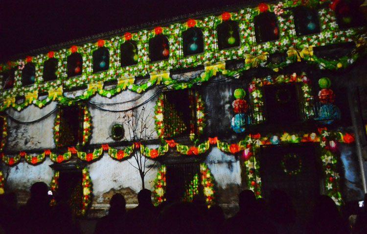 Un mapping en la Casa Surga y un espectáculo audiovisual en la plaza de Gibaxa para los fines de semana navideños en Utrera