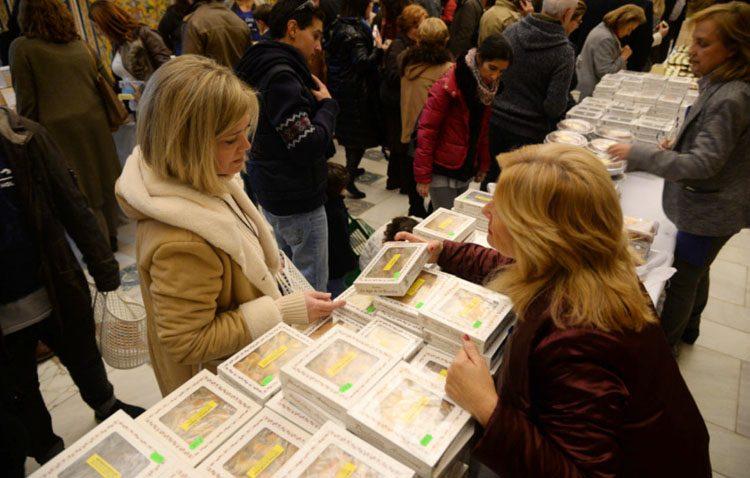 Los dulces de las Madres Carmelitas de Utrera, presentes un año más en el Real Alcázar de Sevilla