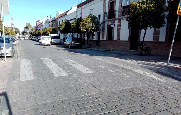 Un plan para adaptar a la ley los pasos de peatones elevados en Utrera