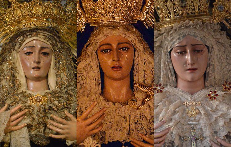 Tres besamanos conmemorarán en Utrera el día de la Inmaculada Concepción
