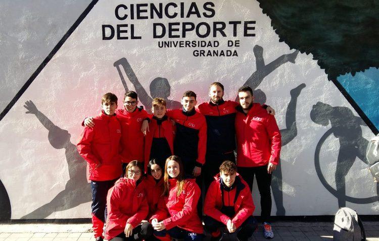 El Club Natación Utrera, presente en II Trofeo internacional de natación «Granada Ciudad Universitaria»