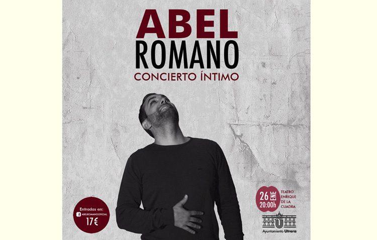 Un concierto muy especial de Abel Romano en el teatro de Utrera