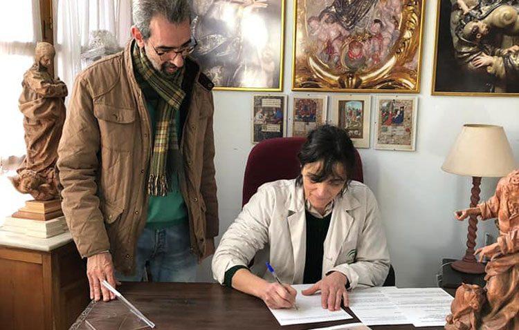 Un nuevo proyecto para la imaginera utrerana Encarnación Hurtado en Granada