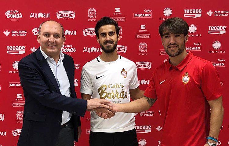 El Club Deportivo Utrera refuerza la medular con el fichaje de Jesús Marrufo